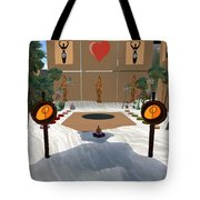 Meditation Beach Tote Bag by Eikoni Images