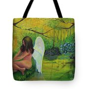 Meditation In Eden Tote Bag