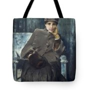 Meditation,  William Merritt Chase American, 1849-1916 1886 Tote Bag