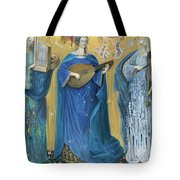 Meditations On The Holy Trinity  After The Music Of Olivier Messiaen, Tote Bag