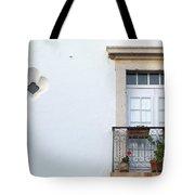 Mediterranean Balcony Tote Bag