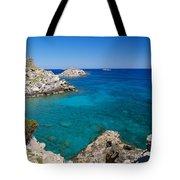 Mediterranean Blue Tote Bag