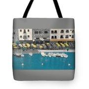 Mediterranean Harbour Tote Bag