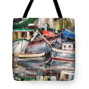 Mediterranean Impression Tote Bag
