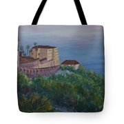 Mediterranean Overview Tote Bag
