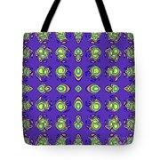Mediterranean Pattern Tote Bag