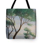 Mediterranean Pines Tote Bag