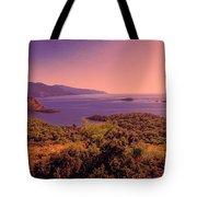 Mediterranean Sunset Glow Tote Bag