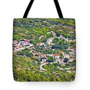 Mediterranean Village On Island Of Vis Tote Bag