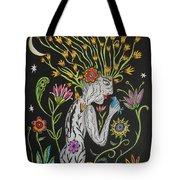 Medusa De Flores Tote Bag