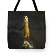 Meerkat On The Watch Tote Bag