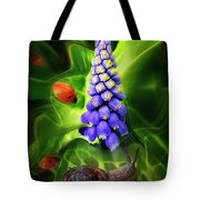 Meet Me At The Hyacinth Tote Bag