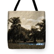 Meet Me By The Willows Tote Bag