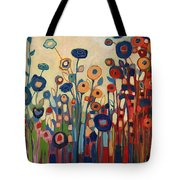 Meet Me In My Garden Dreams Tote Bag
