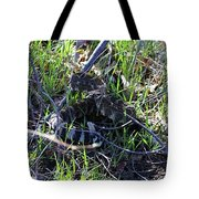 meet Ronnie the rattlesnake Tote Bag