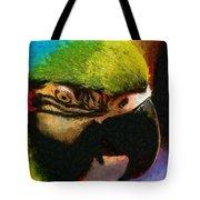 Meet The Brazilian Arara Tote Bag
