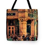 Meet You At Hudson's Tote Bag