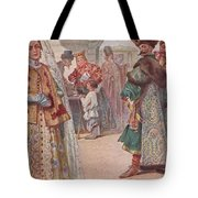 Meeting 1 Sergey Sergeyevich Solomko Tote Bag