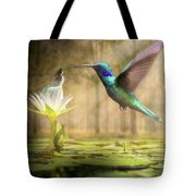 Meeting Mother Nature Tote Bag