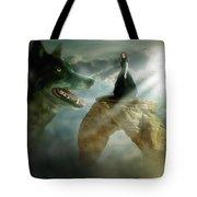Meeting Of Souls  Tote Bag