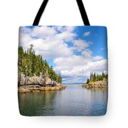 Meeting Of The Islands Tote Bag