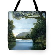 Meeting Of The Waters Tote Bag