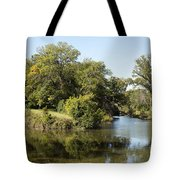 Meeting Of Two Rivers Tote Bag