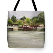 Meeting Places Tote Bag