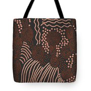 Meeting Places With Flowing Water Tote Bag