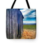 Meeting The Blue Tote Bag