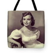 Meg Randall, Vintage Actress Tote Bag