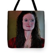 Megan At Eighteen Tote Bag