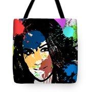 Meghan Markle Pop Art Tote Bag