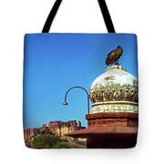 Mehrangarh Fort - Approach With Caution Tote Bag