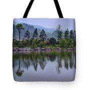 Meitan County Reflection - Guizhou, China Tote Bag