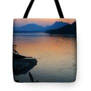 Mekong River Sunset Tote Bag