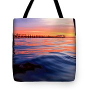 Mel Beach Red Tote Bag