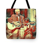 Mel Tillis Famous Country Music Entertainer  Tote Bag