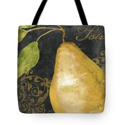 Melange French Yellow Pear Tote Bag