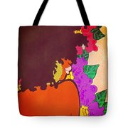 Melanin And Flowers Tote Bag