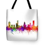 Melbourne Australia Cityscape 02 Tote Bag