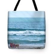 Melbourne Beach Florida On The Phone Tote Bag