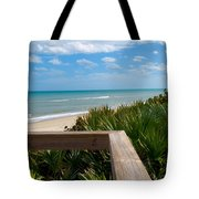 Melbourne Beach In Florida Tote Bag