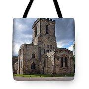 Melbourne Parish Church In Derbyshire Tote Bag
