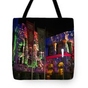 Melbourne Town Hall  With Christmas Light 1 Tote Bag