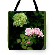 Melody Of Flowers Tote Bag