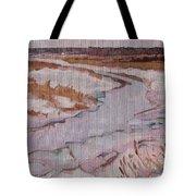 Melt Water Tote Bag