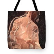 Melted Wax Model Tote Bag