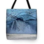 Melting Glacier Tote Bag