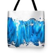Melting Glaciers Tote Bag
